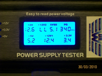LCD PSU Tester Power Supply Unit ATX Tester